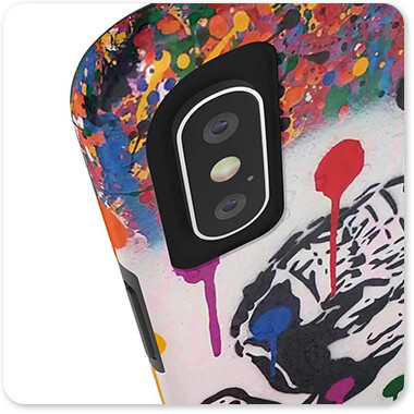 For the Funk Collection Boxer Rainbow Drips-B - Tough Cell Phone Case