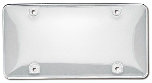 Clear License Plate Covers