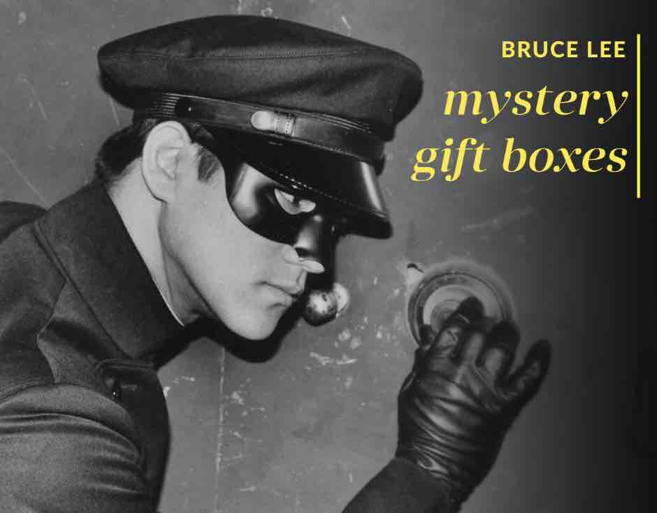Bruce Lee Holiday Mystery Boxes