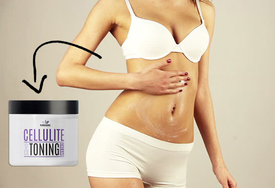 Pureganic All Natural Skin Tightening Cream For Stomach
