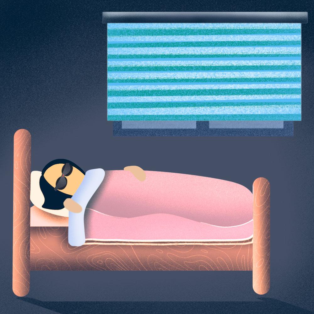 The easiest way to avoid nightmares is practicing good sleep habits.