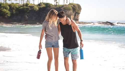 Healthy Human Stein Water Bottle