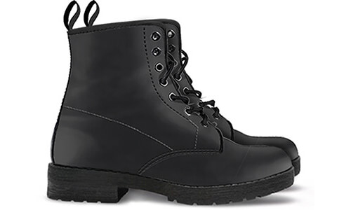 Sizing Measurement Chart FAUX MEN'S WOMEN'S LEATHER BOOTS EXPRESS DELIVERY