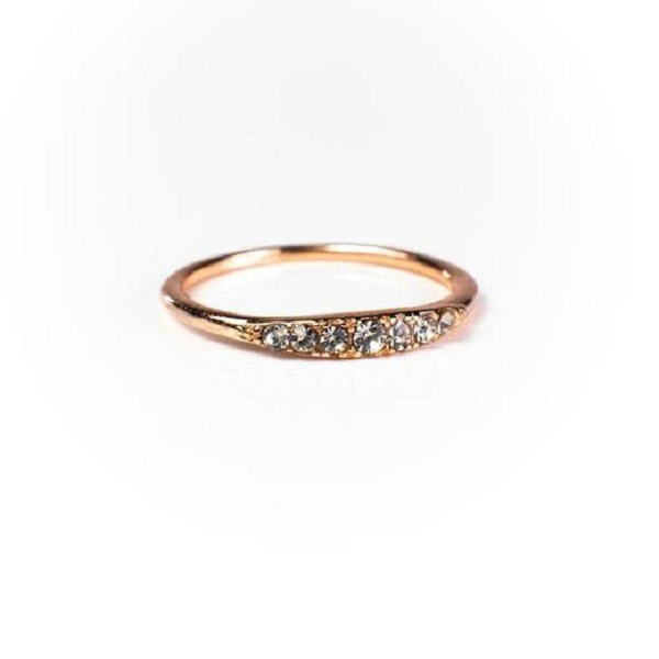Kathleen Stack Ring 18K Gold Vermeil