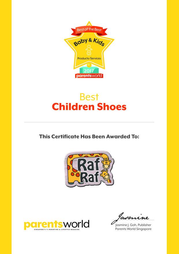 Best Children Shoes Award
