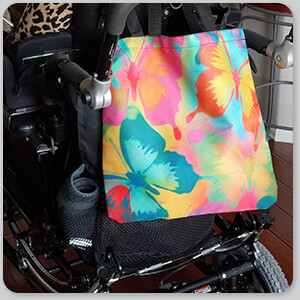 AllTypeSupply.com HAPPY CUSTOMER TESTIMONIAL Social Proof - Butterflies - Canvas Tote Bag