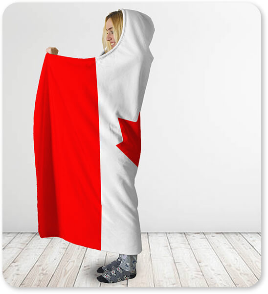 Canada Hooded Blanket of the World Collection