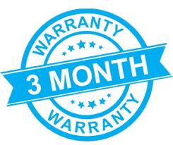 3 Months Warranty
