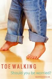 Prevents Toe Walking