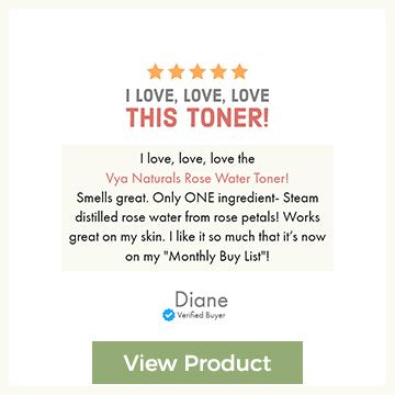 Rose Water Toner Review