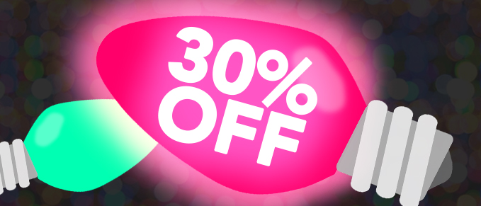 Mystery Discount - 30% Off Your Order - Use Coupon Code: MYSTERY30