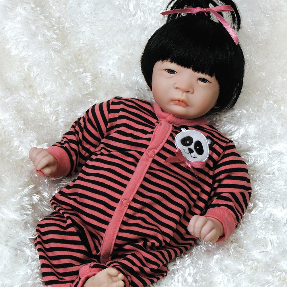 Panda Twin Girl