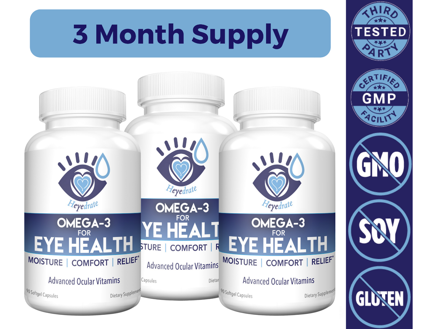 Heyedrate Omega-3 for Eye Health