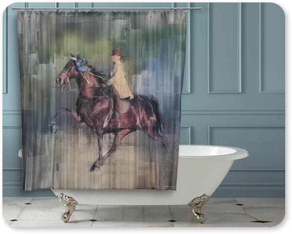 Jai Johnson Artist Collection Winner - Bathroom Shower Curtain - EXPRESS DELIVERY!