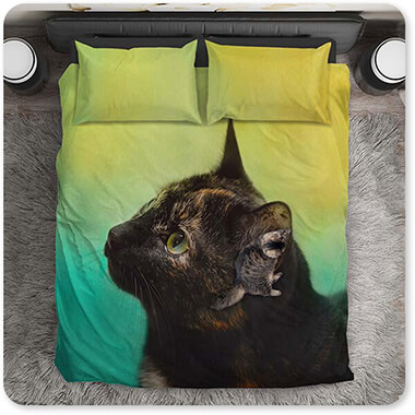 Jai Johnson Artist Collection By the Light of the Sea - King Queen Twin Duvet Bedding Set