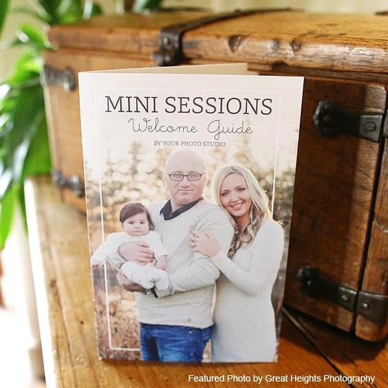 Mini Session Welcome Packet Template