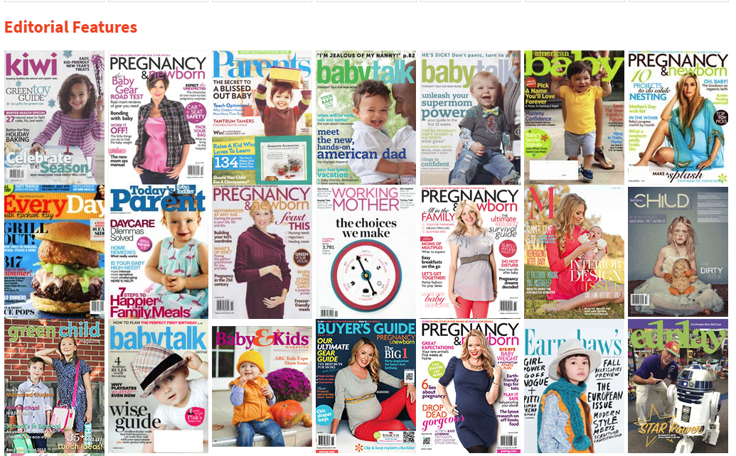 Innobaby Editorial Features