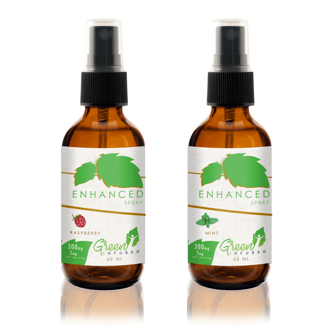 2 x CBD Spray Bottle