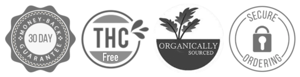 THC, Organic, Money Back Guarantee