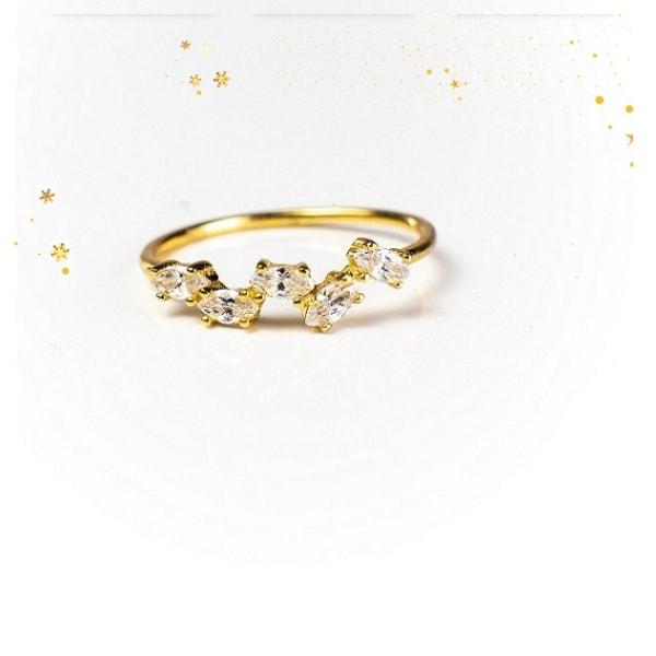 Genna 18K Gold Vermeil Ring