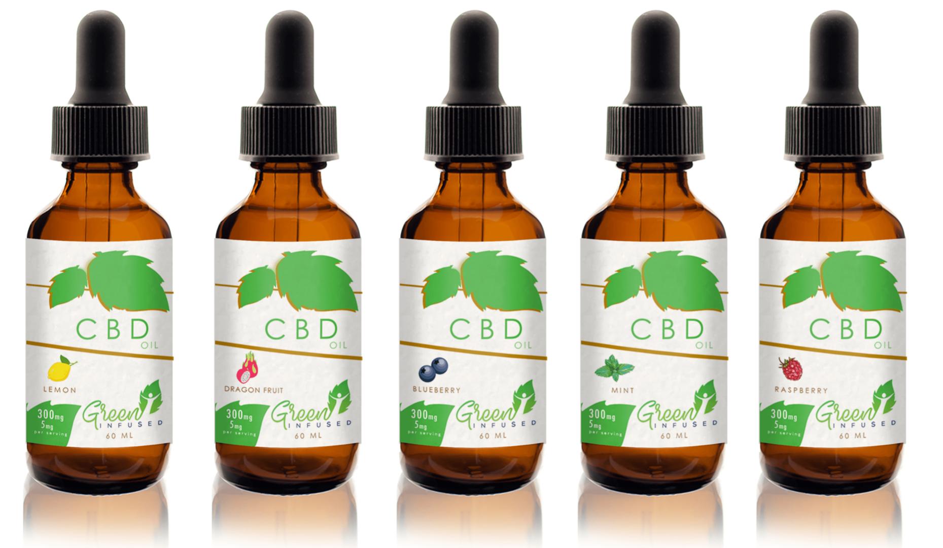 6 Flavors of CBD Oil