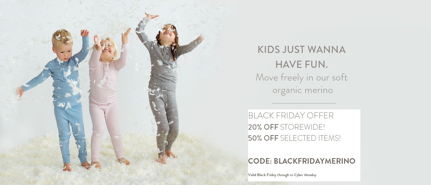 organic merino for baby and child at special low price