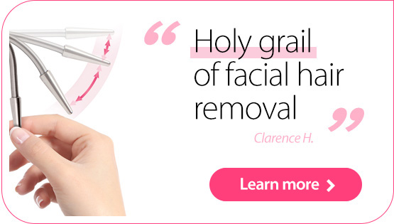 The Holy Grail of facial hair removal