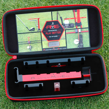 Alignment Made Easy Golf Training Aid Fits in Your Bag