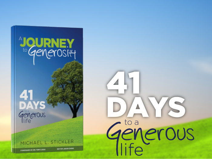 Journey To Generosity | GenerousLife.net