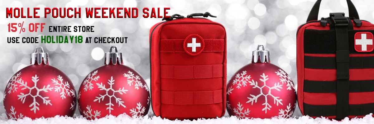 Holiday Weekend Molle Pouch Sale