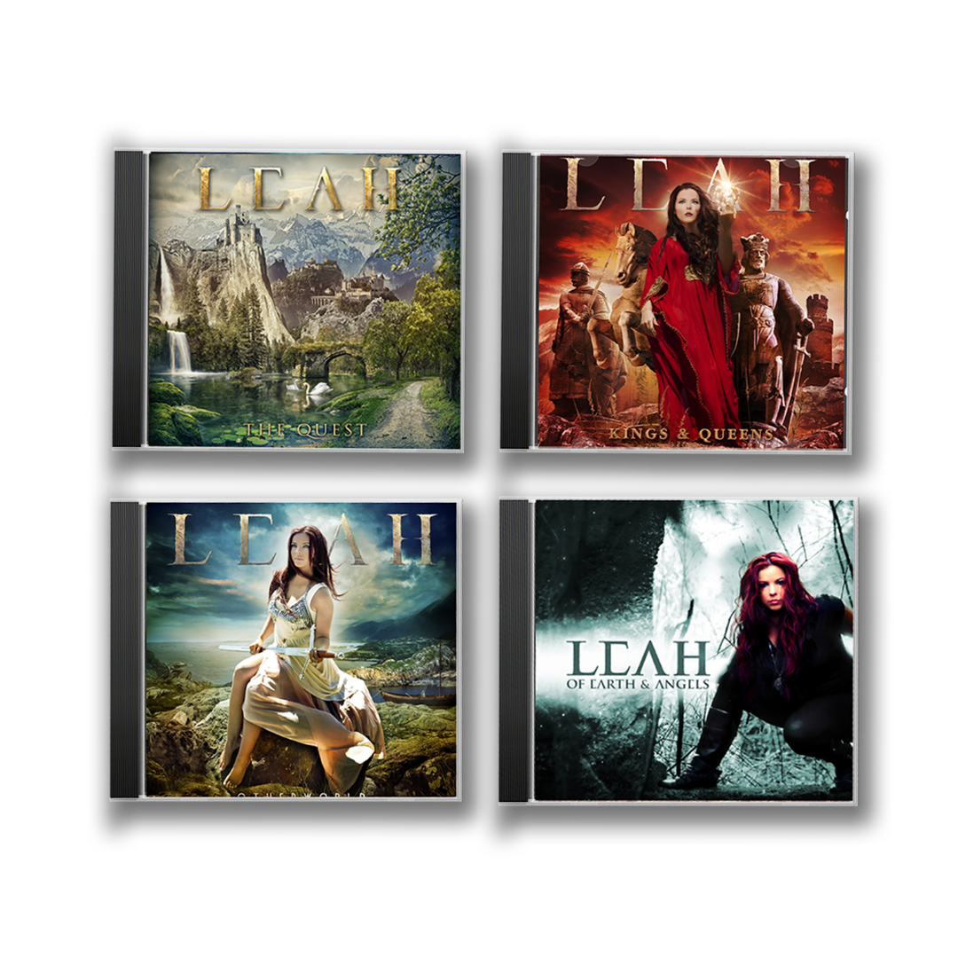 Celtic Metal CD QUARTET Bundle