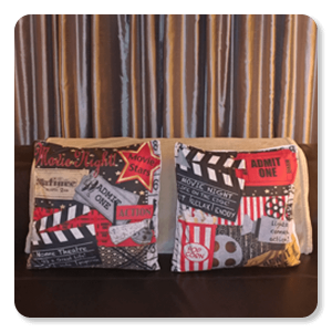 Home Movie Theater Pillows