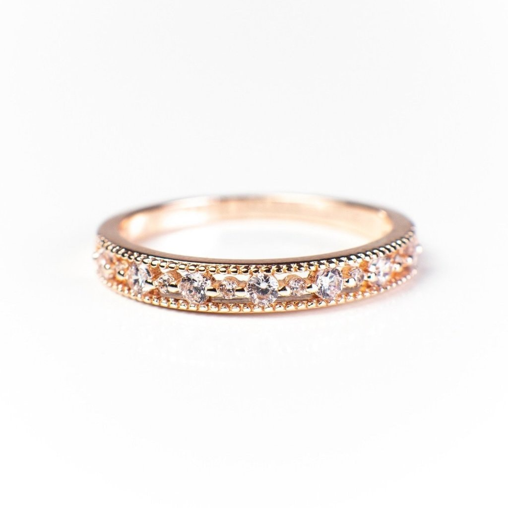Joyce Layered Stack Ring 18K Gold Vermeil