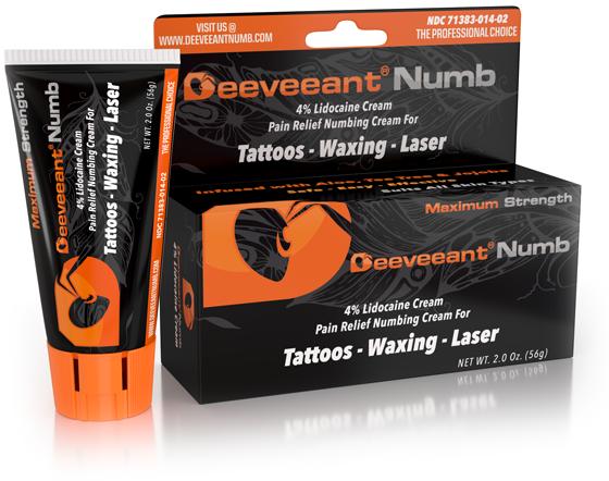 Deeveeant Numbing Cream