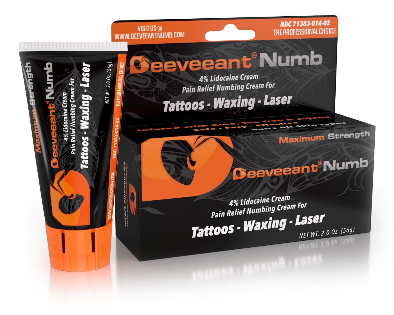 Deeveeant Numbing Cream - Anesthetic Skin Numbing Cream