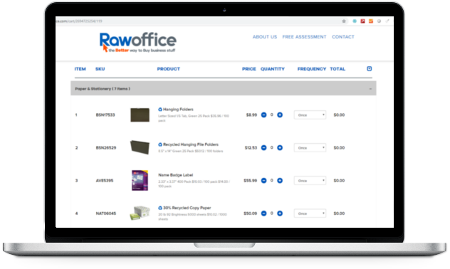 Office Supply Purchasing Platform for Businesses