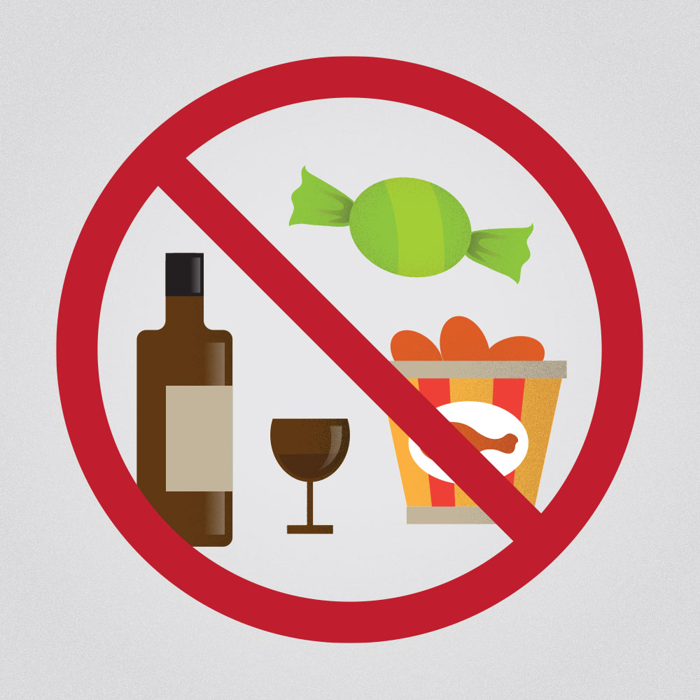 Avoid sugar, grease, and alcohol for better sleep. Sleeping well is a solution to your migraines.