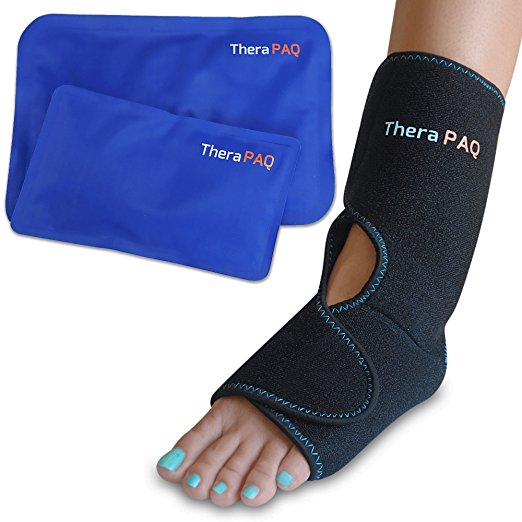 foot and ankle ice wrap by TheraPaq