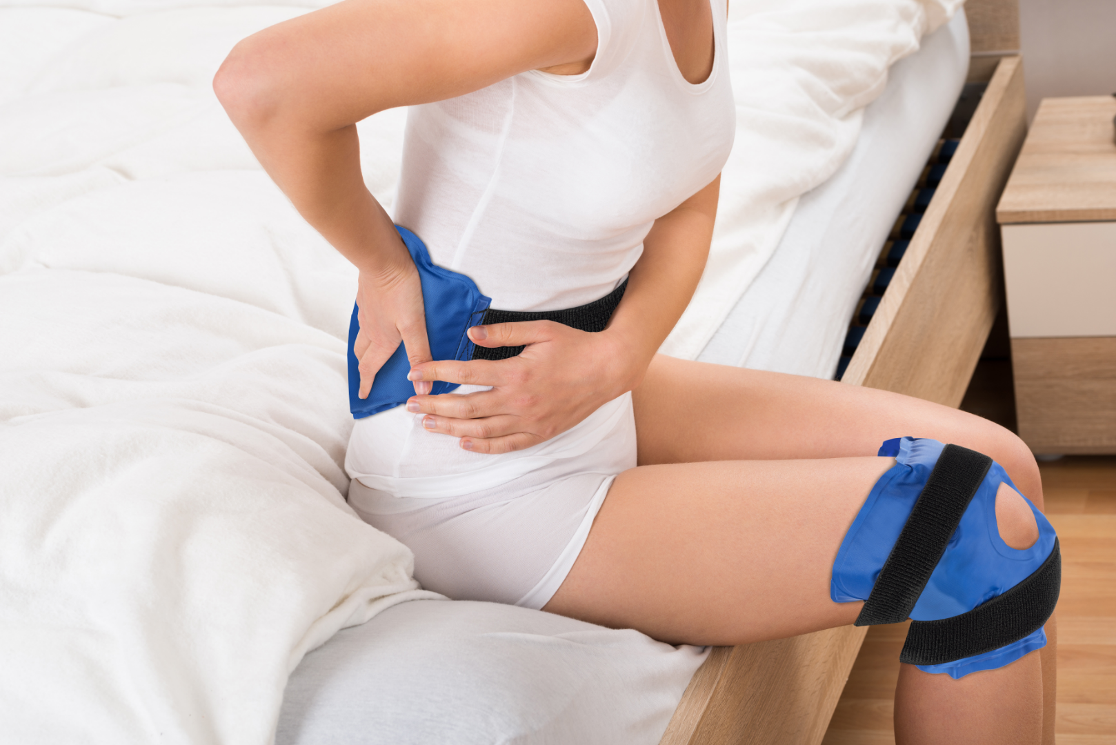 Knee Ice Pack & Back Ice pack
