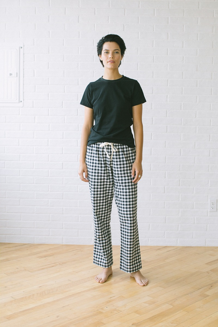 The Sleep Pant Black Gingham
