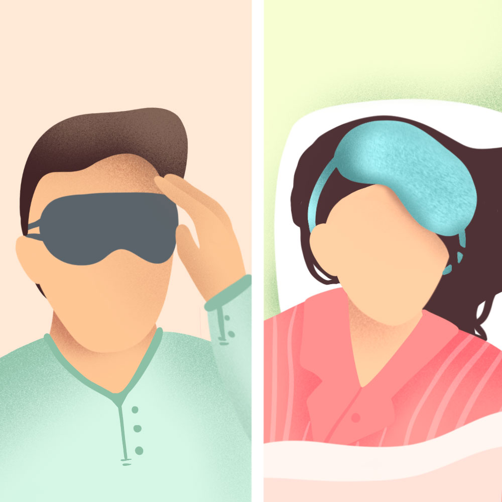 Is the sleep mask too tight or too loose? Finding a sleep mask that fits you is crucial.