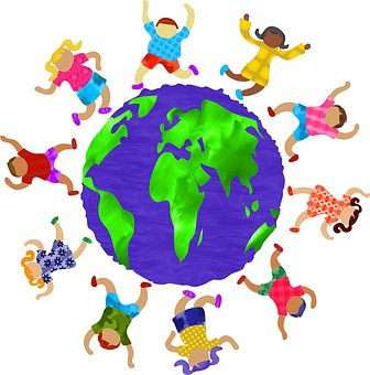 Tanzen Kinder Welt