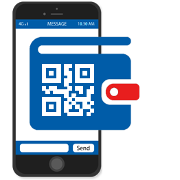 Customer downloads your offer to their mobile wallet