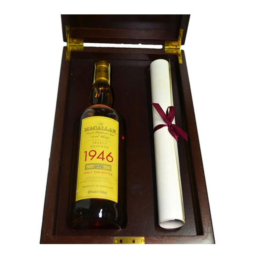 The Macallan 1946 52 Year Old (bottle no.1696)