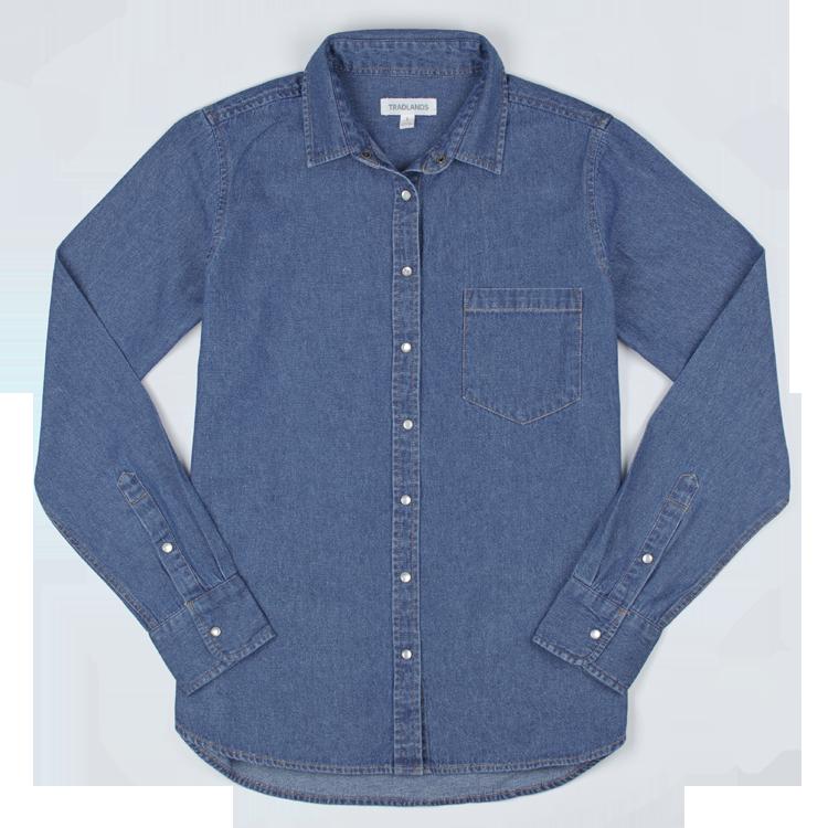 101 Washed Denim Shirt
