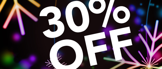 30% Off Your Order - Use coupon code: AMAZE
