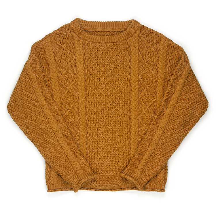 The Modern Fisher Sweater Sienna