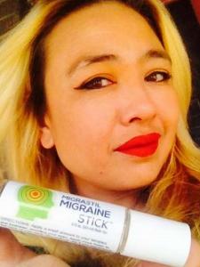 Migraine Stick customer
