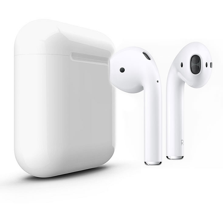 iPHONE wireless earphones with charge box