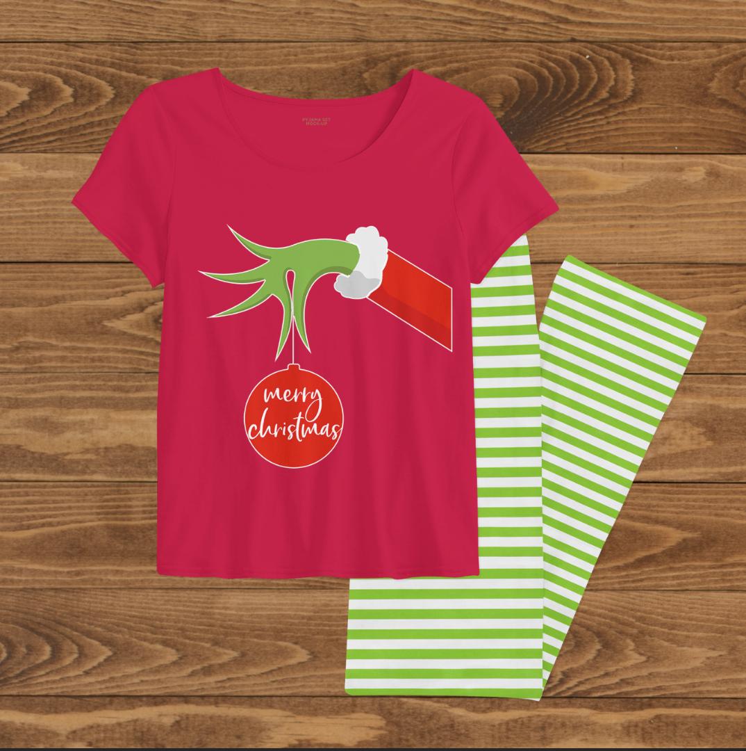 Holiday Family Pajamas Red